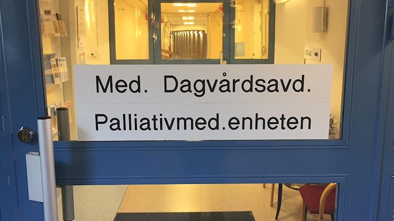 Palliativa enheten
