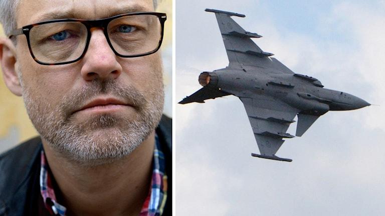 Henrik Schyfferts flygtur med ett Jas-plan JO-anmäls.