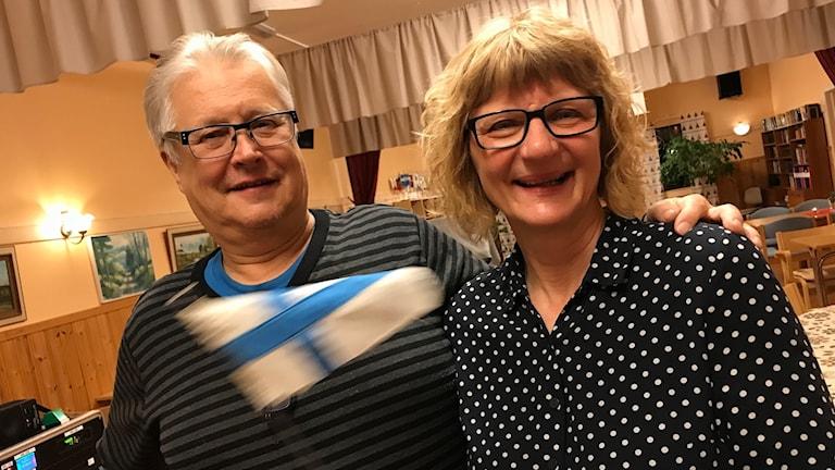Viljo Kokko och Arja Sivonen