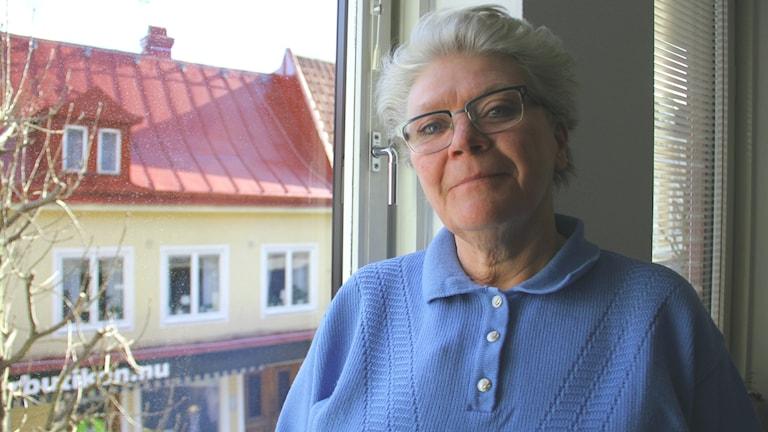 Porträttbild av Camilla Solitander Lind, projektledare vid Omsorgsförvaltningen i Karlshamns kommun.