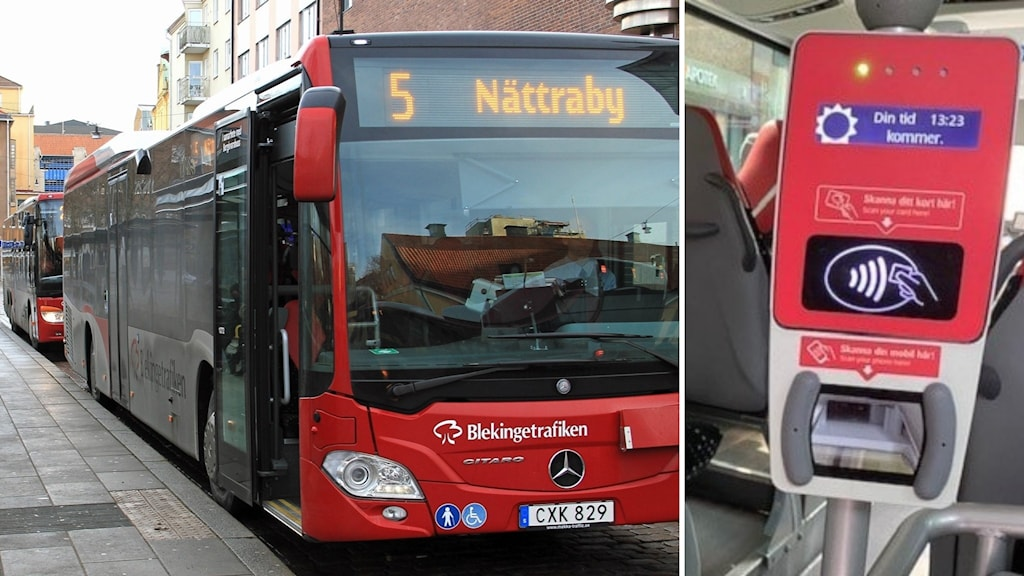 Buss biljett fusk