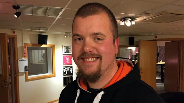 Fredrik Franzén från Lyckeby på P4 Blekinge.