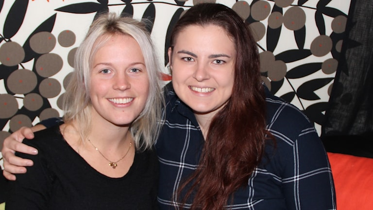 Cornelia Barfvestam och Bonnie Friedh-Möller