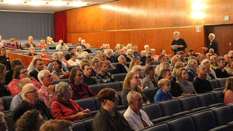 Publik i konserthuset i Karlskrona