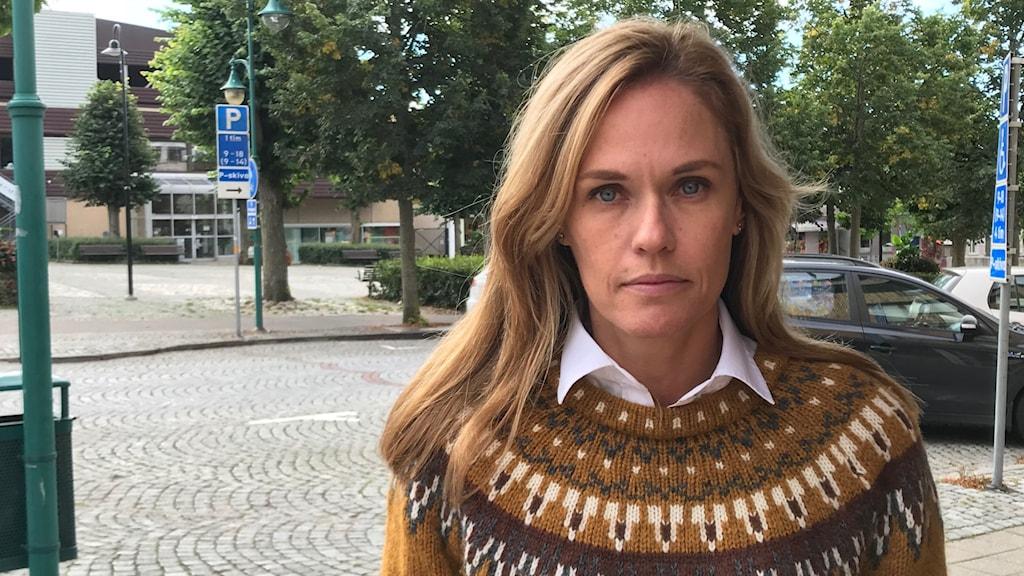 Katarina Skantze Mansnerus, ordförande för Räddningstjänstens direktion i östra Blekinge.