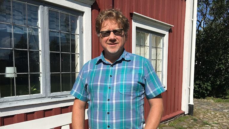 Magnus Larsson, distriktsordförande för Centerpartiet i Blekinge.