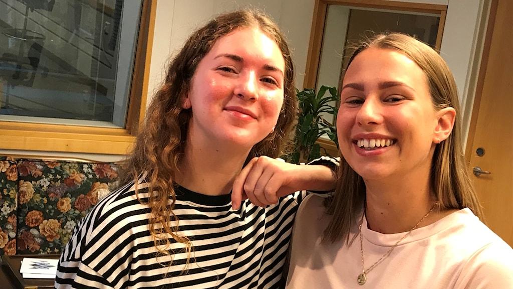 Rebecca Malecka och Johanna Malmström