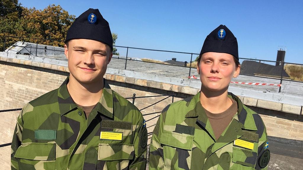 Eric Ragnasson och Ebba Axelsson