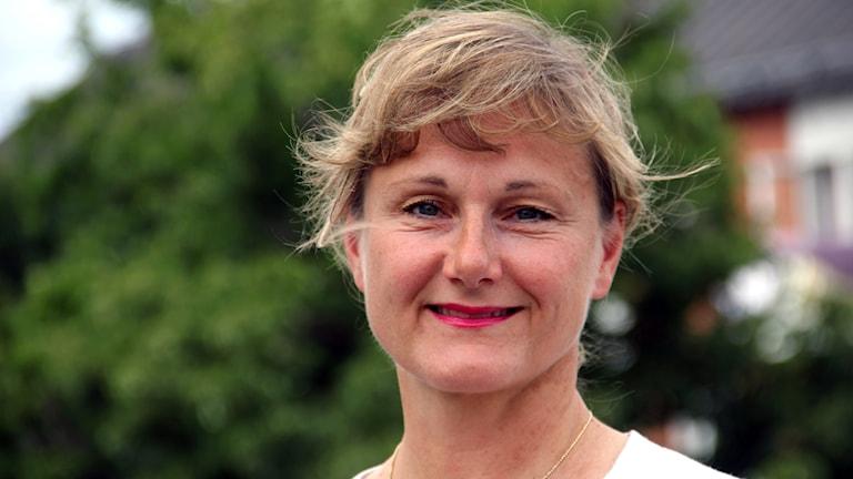 En porträttbild på Annicka Engblom (M).