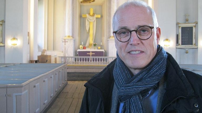 Ulf Sundqvist i trefaldighetskyrkan