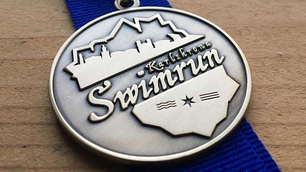 Medalj för Karlskrona Swimrun