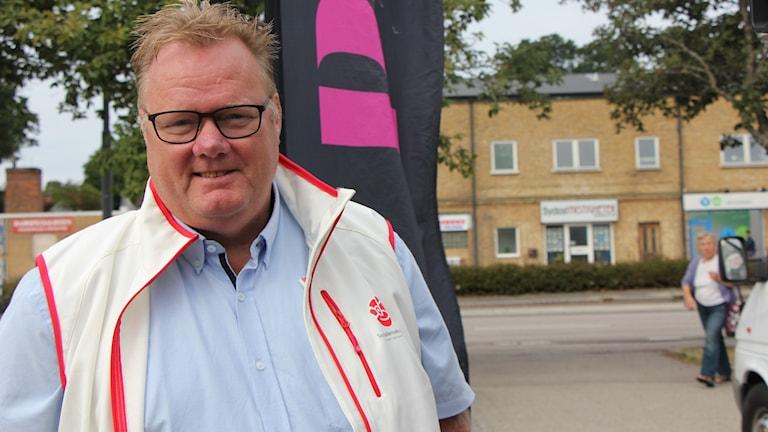 Magnus Pettersson från Socialdemokraterna i Ronneby