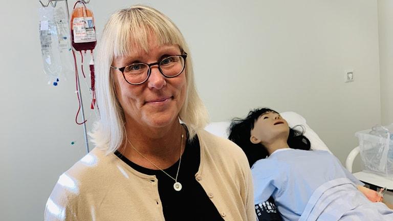Lisa Skär professor i omvårdnad BTH