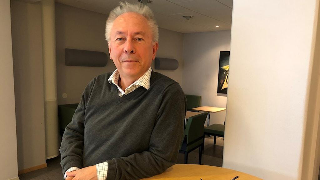 Socialdemokratiska landstingspolitikern Jan Björkman