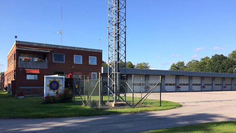 Räddningstjänsten Västra Blekinge. Brandstationen i Karlshamn.