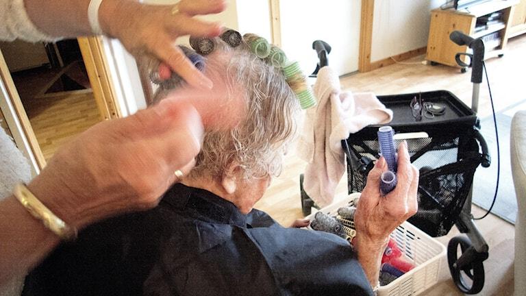 hårrullning