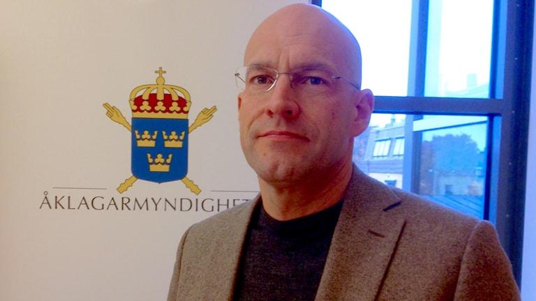 Carl-Gunnar Fridolfsson, chefsåklagare i Växjö.