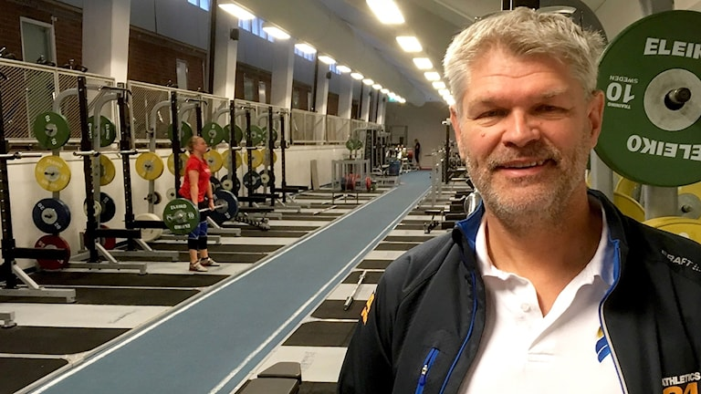 Friidrottstränaren Agne Bergvall