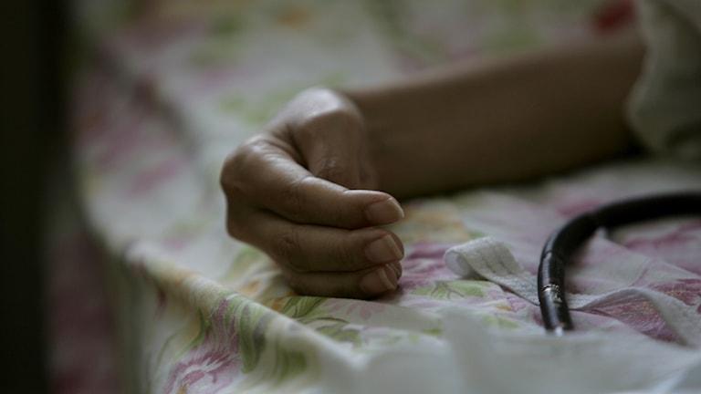 Artikeln handlar om palliativ vård.