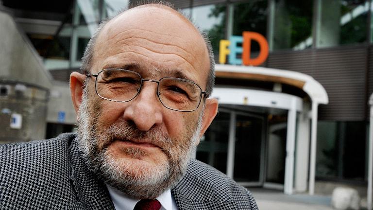 Jerzy Sarnecki, professor i allmän kriminologi vid Kriminologiska institutionen på Stockholms universitet. Foto:Jurek Holzer/Scanpix