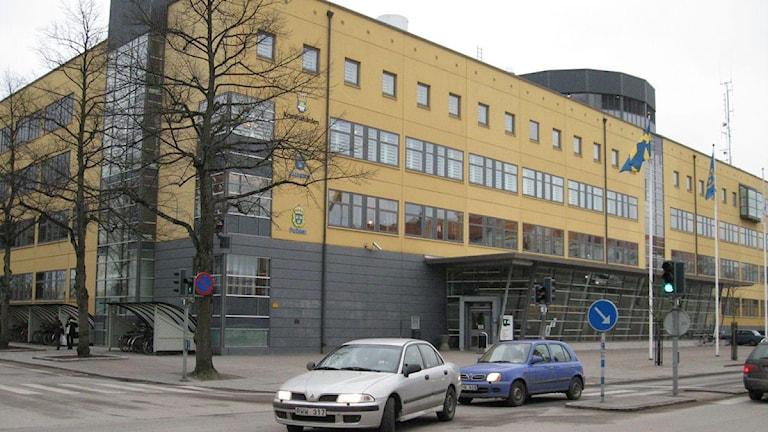Polishuset i Växjö.