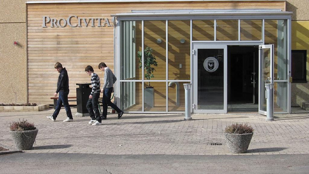 Gymnasieskolan Procivitas i Växjö.