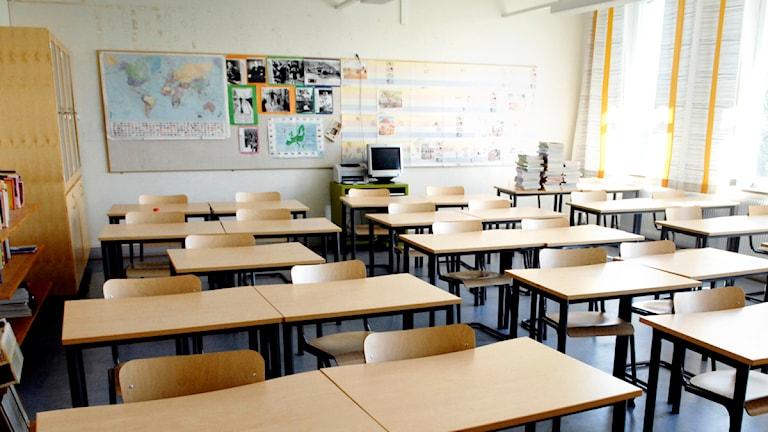 Våldet i klassrummen