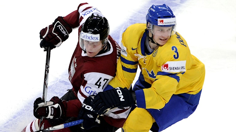 Oliver Ekman-Larsson från Tingsryd i Tre Kronor. Foto: Pontus Lundahl/Scanpix