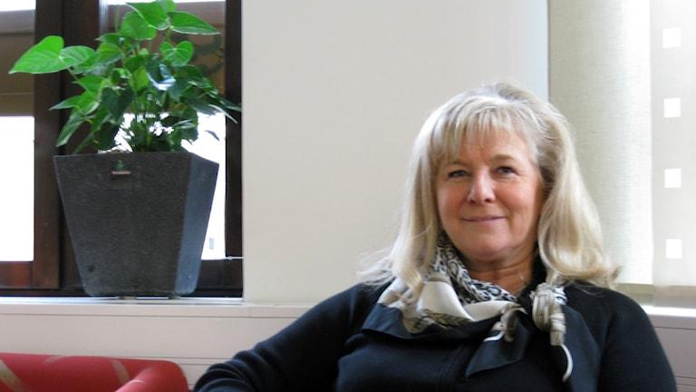 Moderata riksdagsledamoten Katarina Brännström. Foto: Anna Tigerström/Sveriges Radio