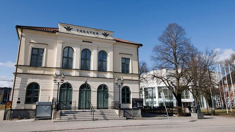Växjö teater. Foto: Lennart Nilsson/Sveriges Radio