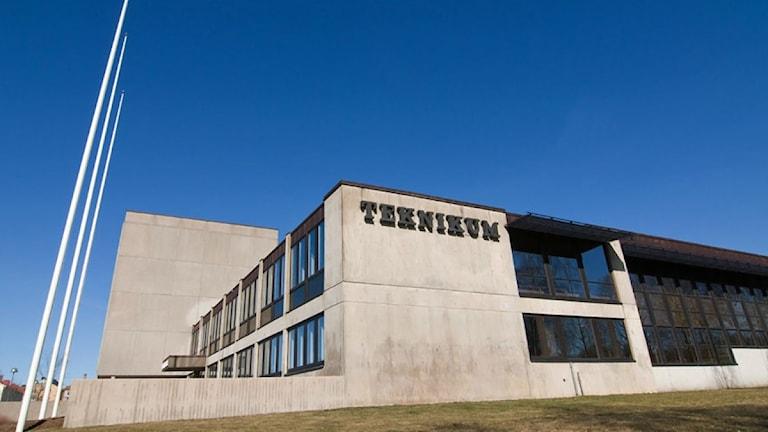 Teknikum i Växjö. Foto: Lennart Nilsson/Sveriges Radio