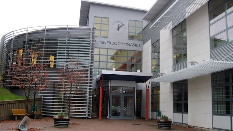 Sunnerbogymnasiet i Ljungby. Foto: Anna Tigerström/Sveriges Radio