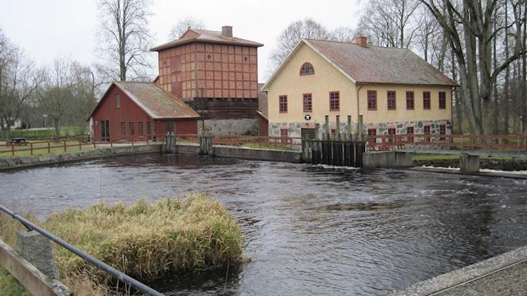 Från Huseby Bruk, ett av Sveriges bäst bevarade järnbruk. Foto: Roger Bergvik/Sveriges Radio.