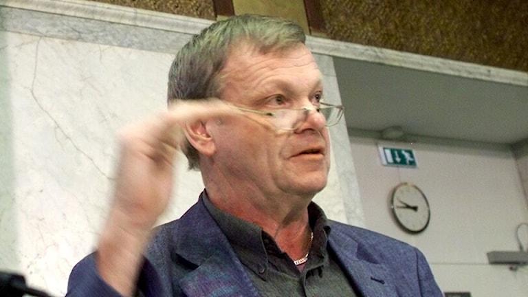 Regeringens vindkraftssamordnare Lennart Wärmby (V). Foto: Pontus Lundahl/Scanpix.