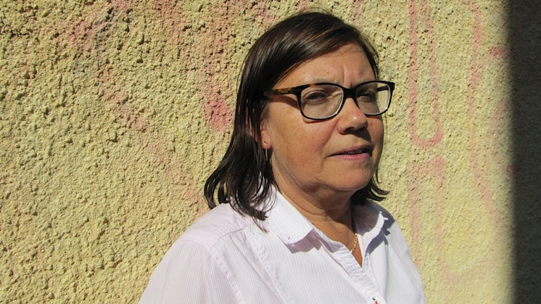 Polisutbildningens chef Betty Rhodin. Foto: Malin Ulfhager/Sveriges Radio