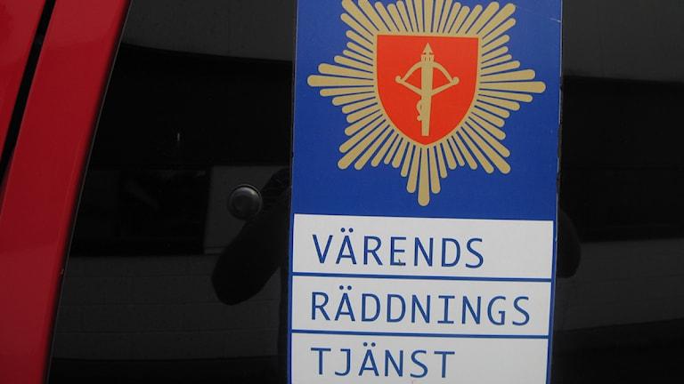 Värends räddningstjänst. Foto: Roger Bergvik/Sveriges Radio.