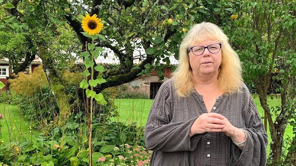 Ewa Jonsson, en av de kronobergare som fått diagnosen postcovid.