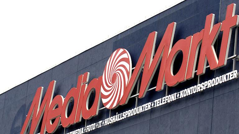 Media Markt. Foto: Ingvar Karmhed/SvD/Scanpix.