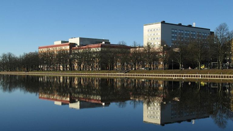 Centrallasarettet Växjö. Foto: Michael Breider.