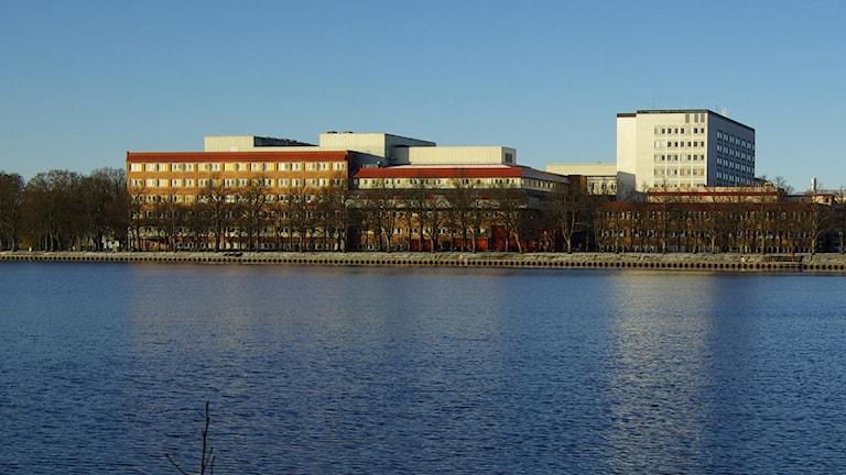 Centrallasarettet i Växjö. Foto: Stefan Ahlrik/Landstinget Kronoberg.