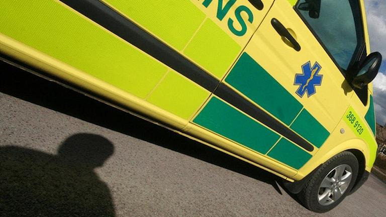 Ambulans. Foto: Nick Näslund/Sveriges Radio.