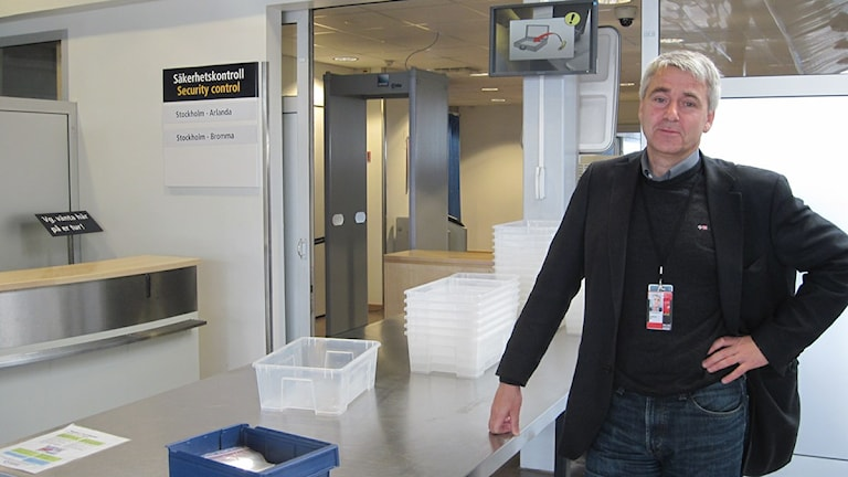Ulf Axelsson, vd Småland Airport.