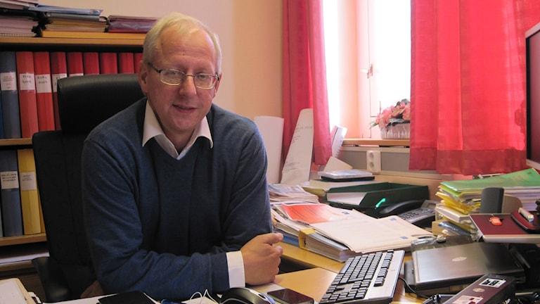 Bengt Germundsson, kristdemokratiskt komunalråd i Markaryd. Foto: Ines Micanovic/ Sveriges Radio