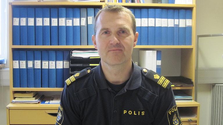 Ola Severinsson, närpolischef vid Kronobergspolisen