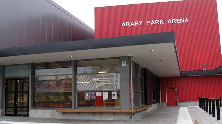 Araby Park Arena i Växjö. Foto: Karin Ernstsson/Sveriges Radio.