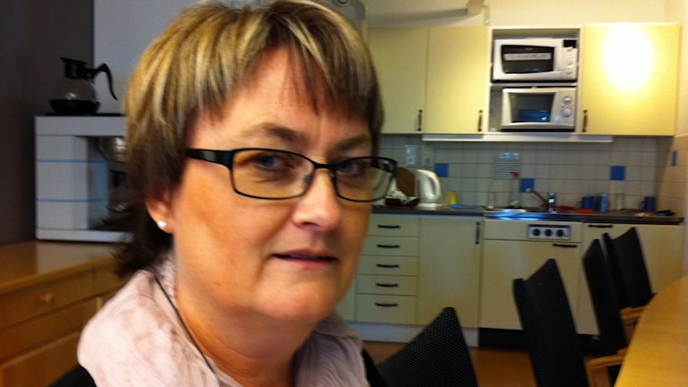 Susanne Karlsson på Kommunal Kronoberg. Foto: Lena Gustavsson/Sveriges Radio