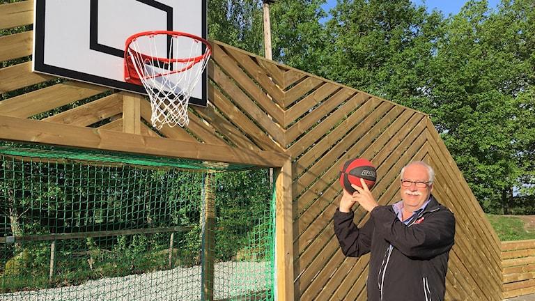 Kjell-Erik Sagebrant, ordförande i Kalvsviks Bygdegårdsförening