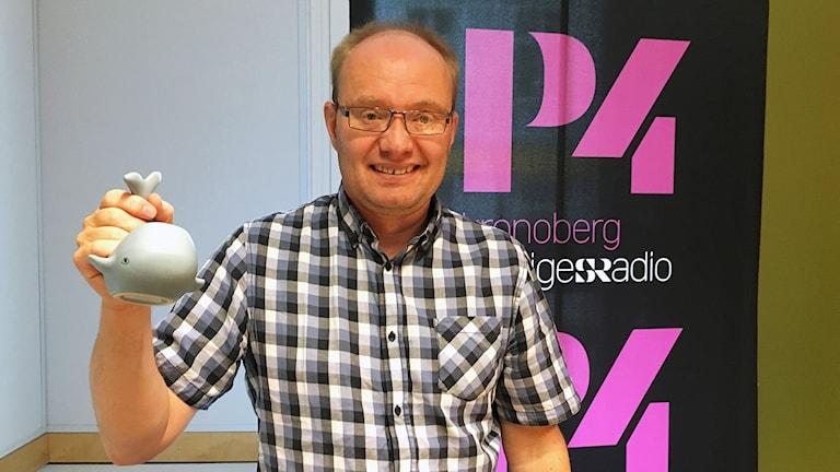 Michael Öberg, Miljöpartiets förstanamn inför Kronobergs regionval 2018.