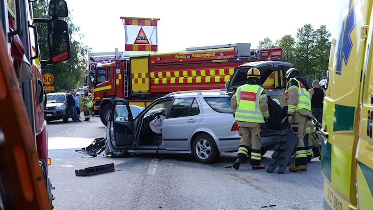 Olycka utanför Alvesta