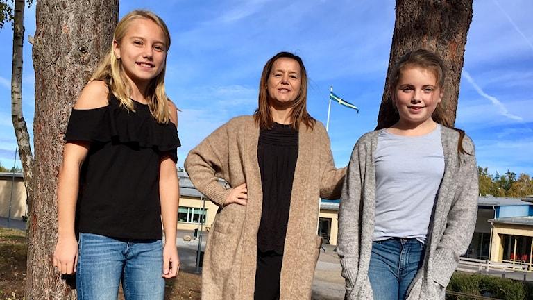 Nova, Johanna Stier och Signe.